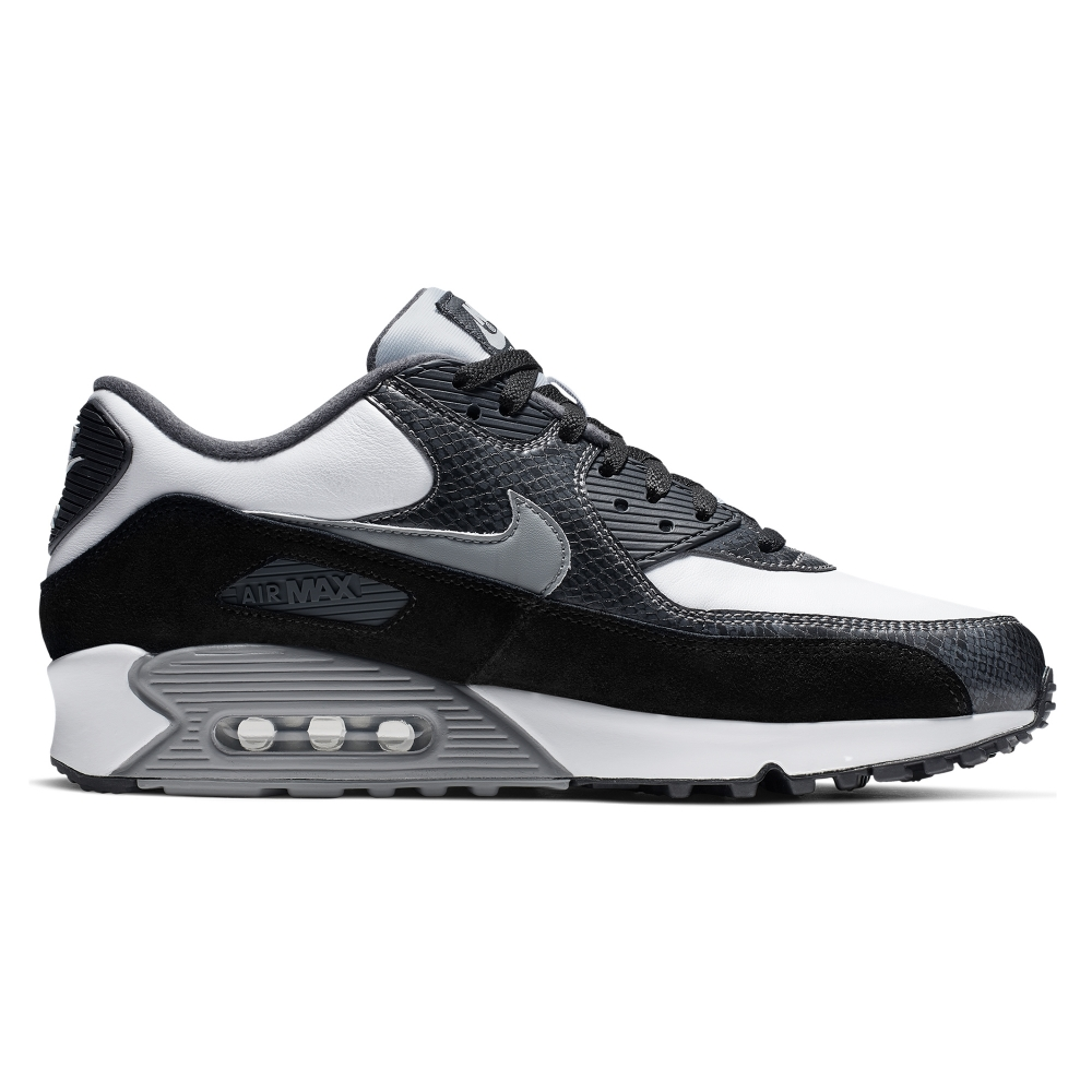 Nike Air Max 90 'Python Pack' QS (White/Particle Grey-Anthracite)