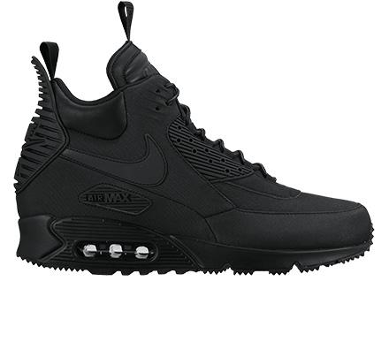 076a7f9ad89a7 Nike Air Max 90 Sneakerboot Winter (Black Black-Black) - Consortium.