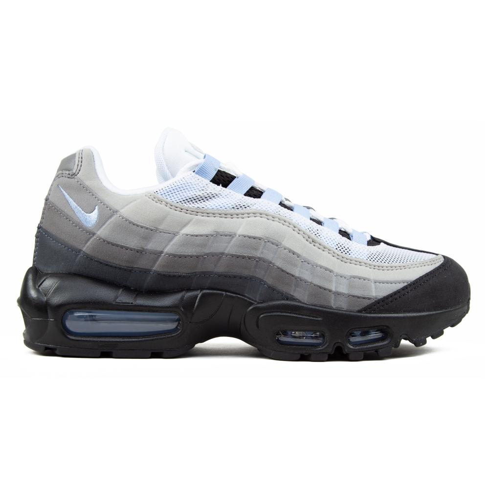 Nike Air Max 95 'Aluminum' (Black/Aluminum-Anthracite)