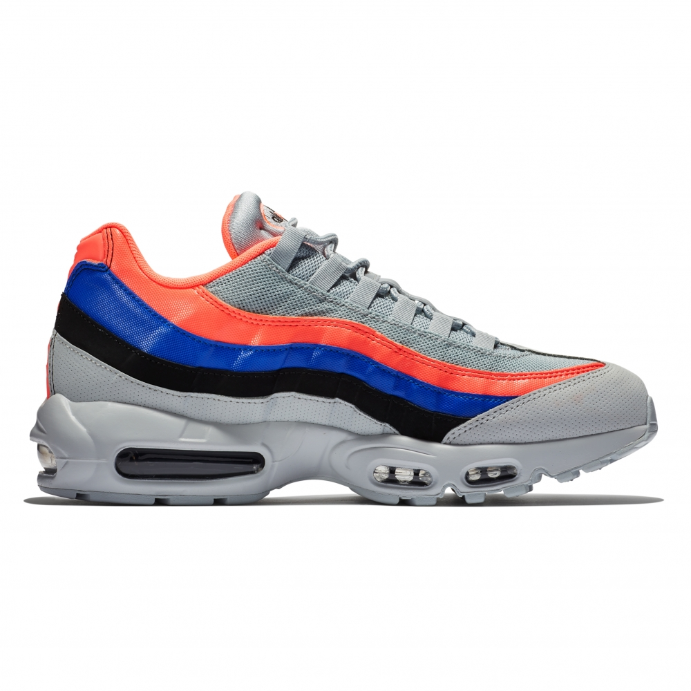Nike Air Max 95 Essential (Pure Platinum/Black-Bright Mango)
