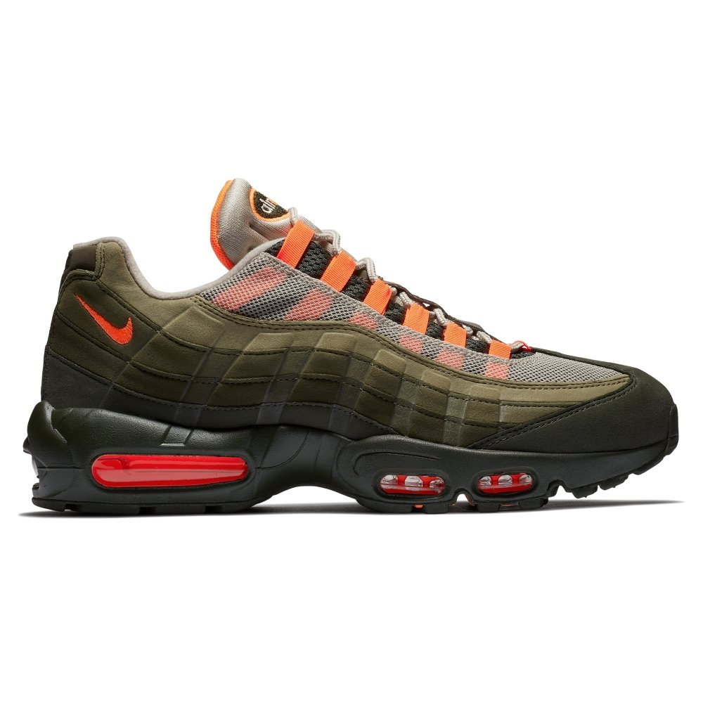 quality design 61203 9163f Nike Air Max 95 OG  String  (String Total Orange-Neutral Olive