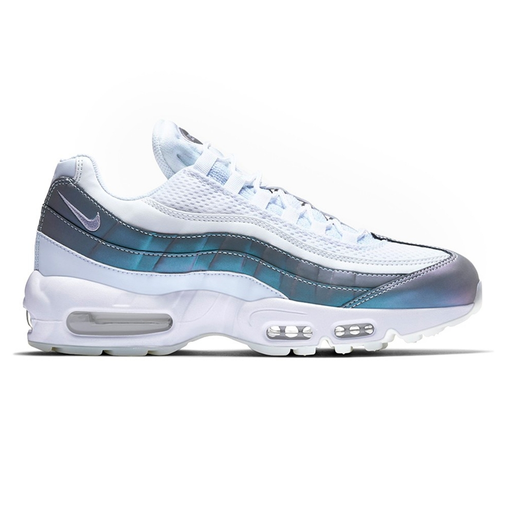 nike premium air max 95 trainers in purple