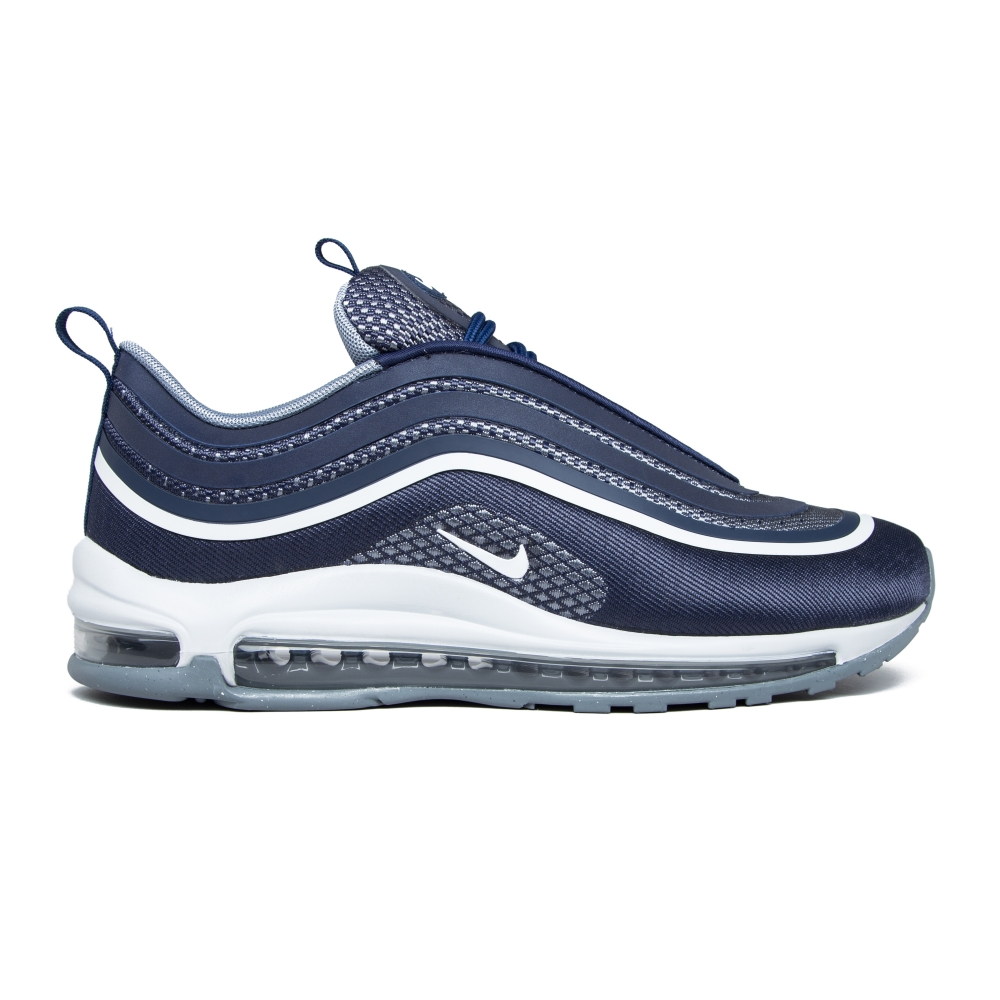 nike air max 97 ultra 39 17 midnight navy white cool grey consortium. Black Bedroom Furniture Sets. Home Design Ideas