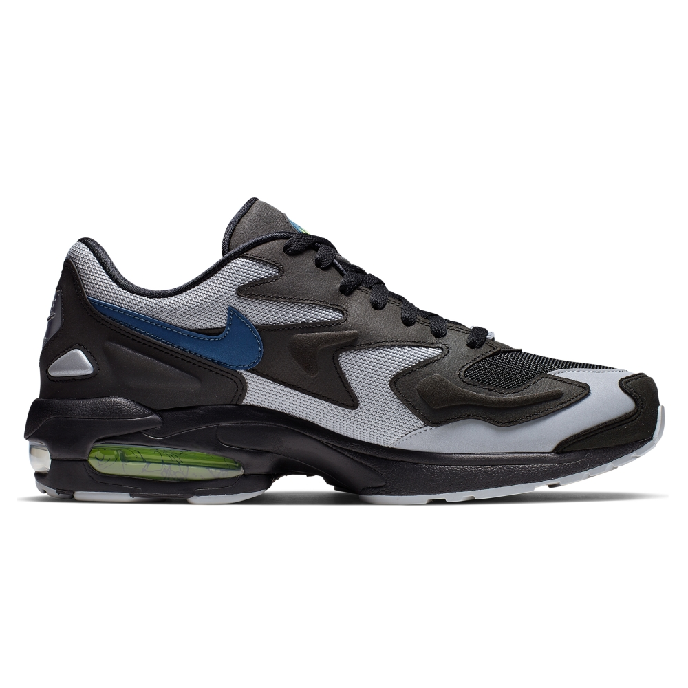 Nike Air Max2 Light 'Thunderstorm' (Black/Thunderstorm-Wolf Grey-Volt)