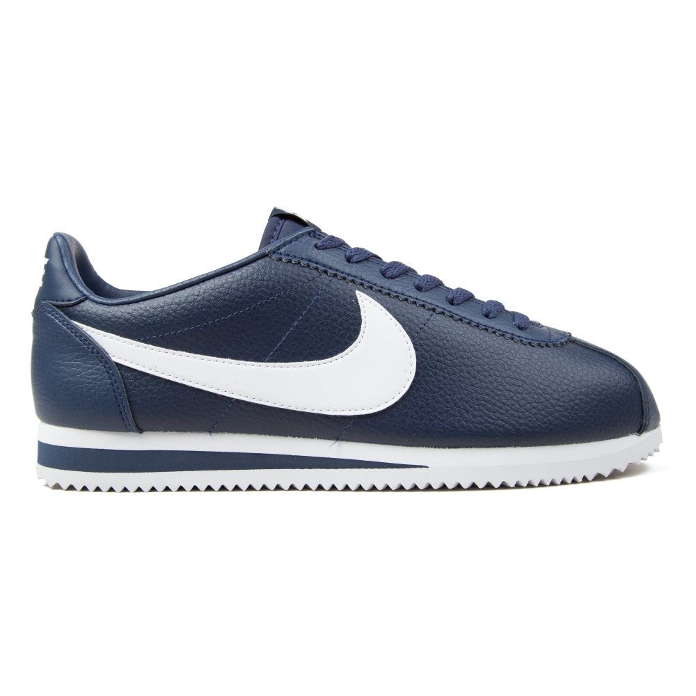 Nike Classic Cortez Leather Midnight Navy White Marine