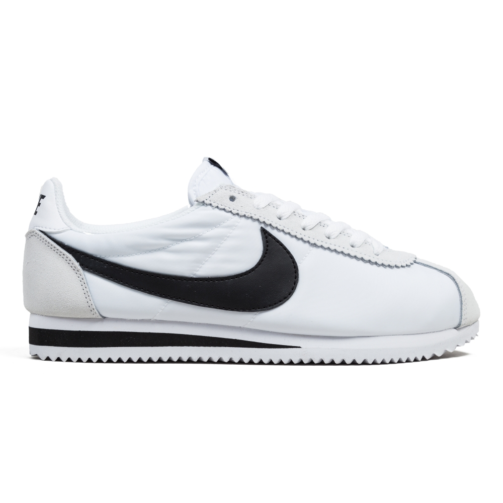 nike cortez white black uk