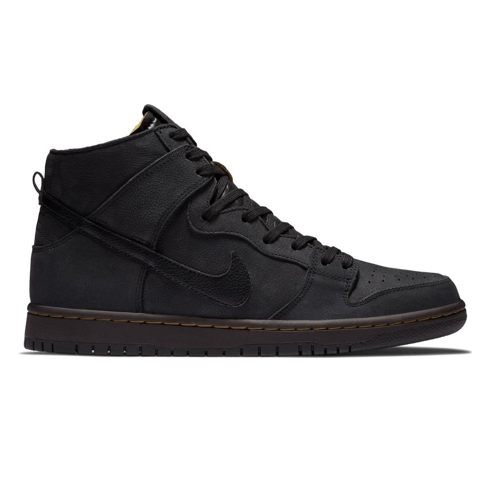 Nike SB Zoom Dunk High Pro Deconstructed Premium (Black/Black-Velvet Brown-Peat Moss)