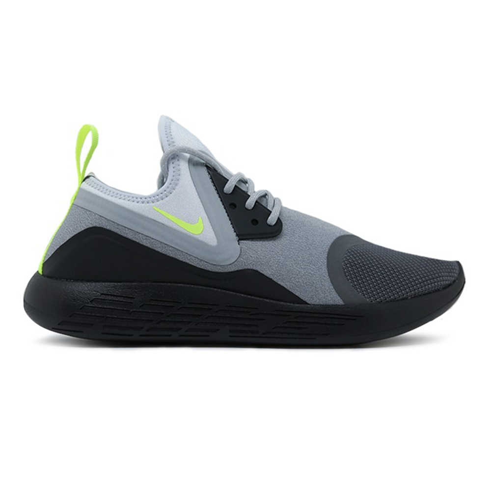 nike lunarcharge essential bn dark grey black volt volt. Black Bedroom Furniture Sets. Home Design Ideas