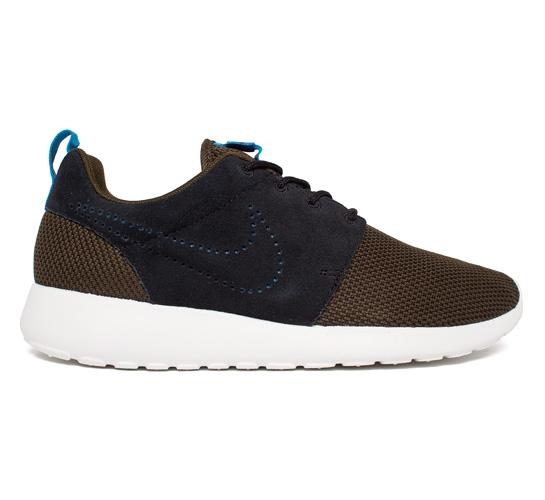 Nike Roshe Run (Dark LodenBlack Dark Loden Mid Turquoise