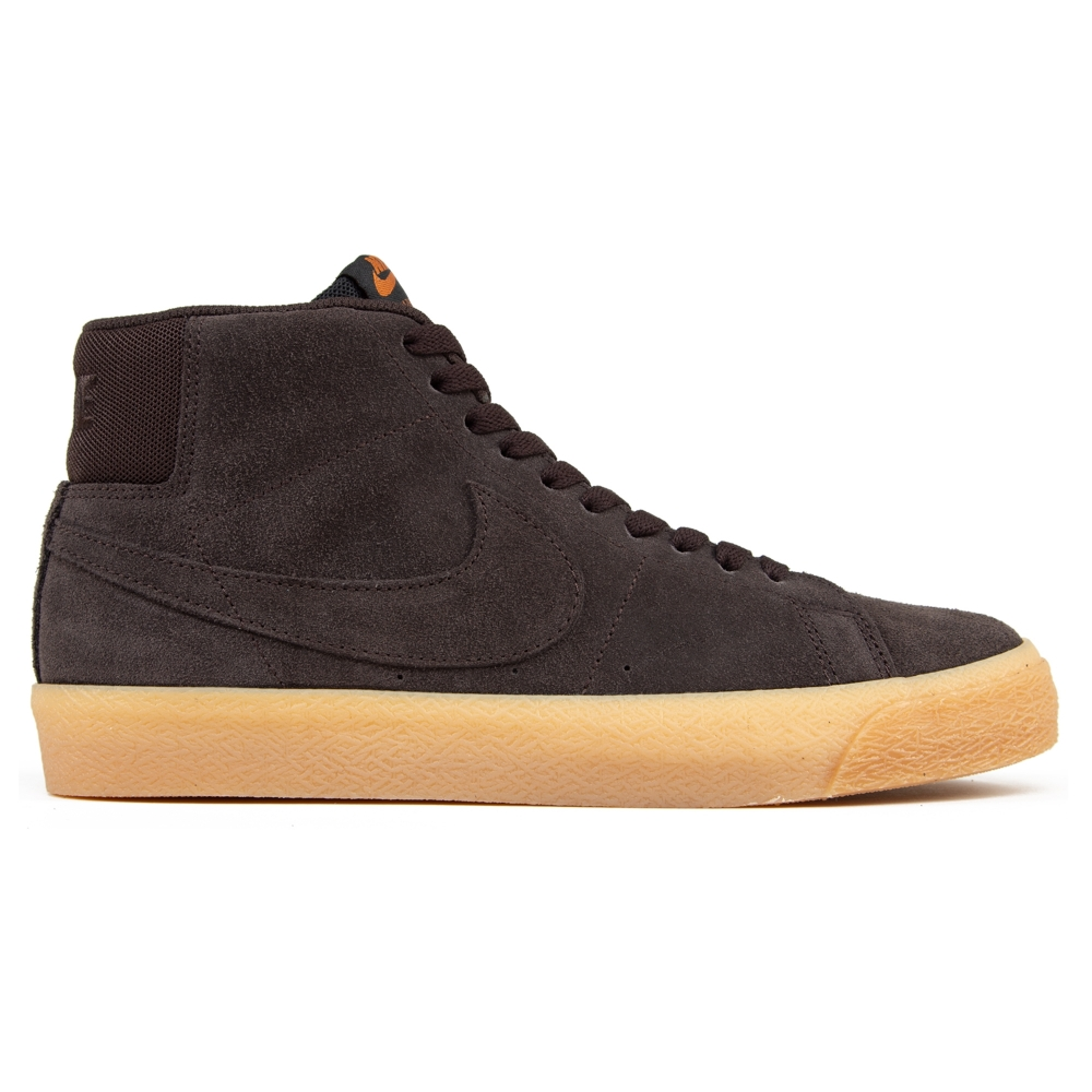 Nike SB Blazer Zoom Mid (Velvet Brown/Velvet Brown-Cinder Orange)