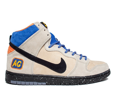 Nike SB Dunk High Premium Acapulco Gold QS (Grain Black-Sandtrap-Bright abca914786