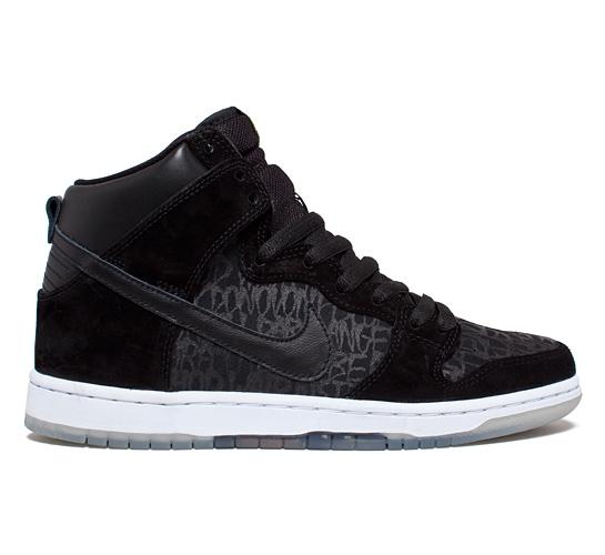 Nike SB Dunk High Premium Chronicles 2 QS (Black/Black)