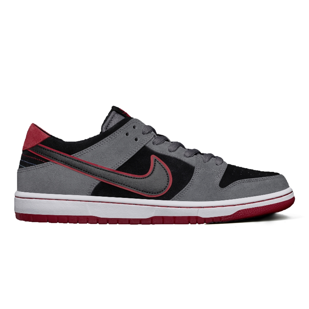 Nike SB Dunk Low Pro Ishod Wair 'BMW' (Dark Grey/Black-University Red-White)