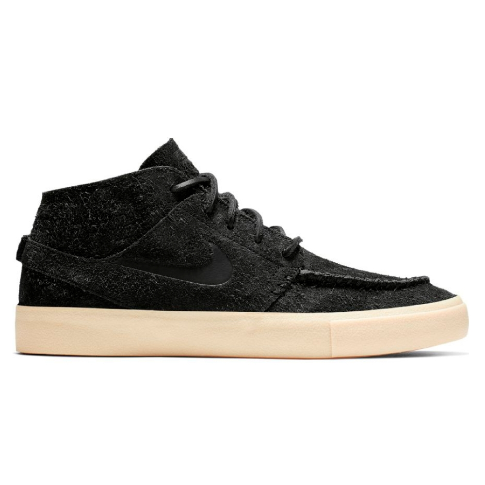 Nike SB Janoski Mid Crafted (Black/Black-Golden Beige-Team Gold)