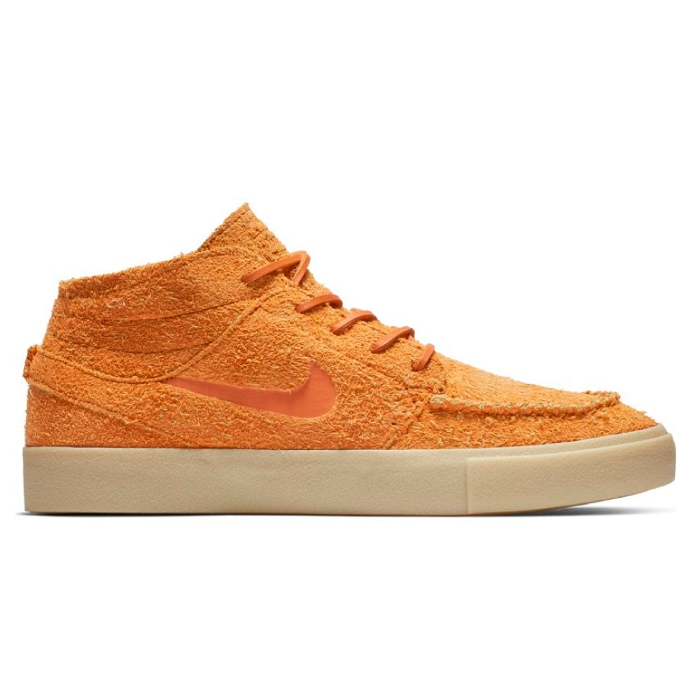 Nike SB Janoski Mid Crafted (Cinder Orange/Cinder Orange-Team Gold)