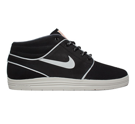 pretty nice 5ed59 20bef Nike SB Lunar Stefan Janoski Mid Shield Pack (Black Reflect Silver-Hyper  Crimson