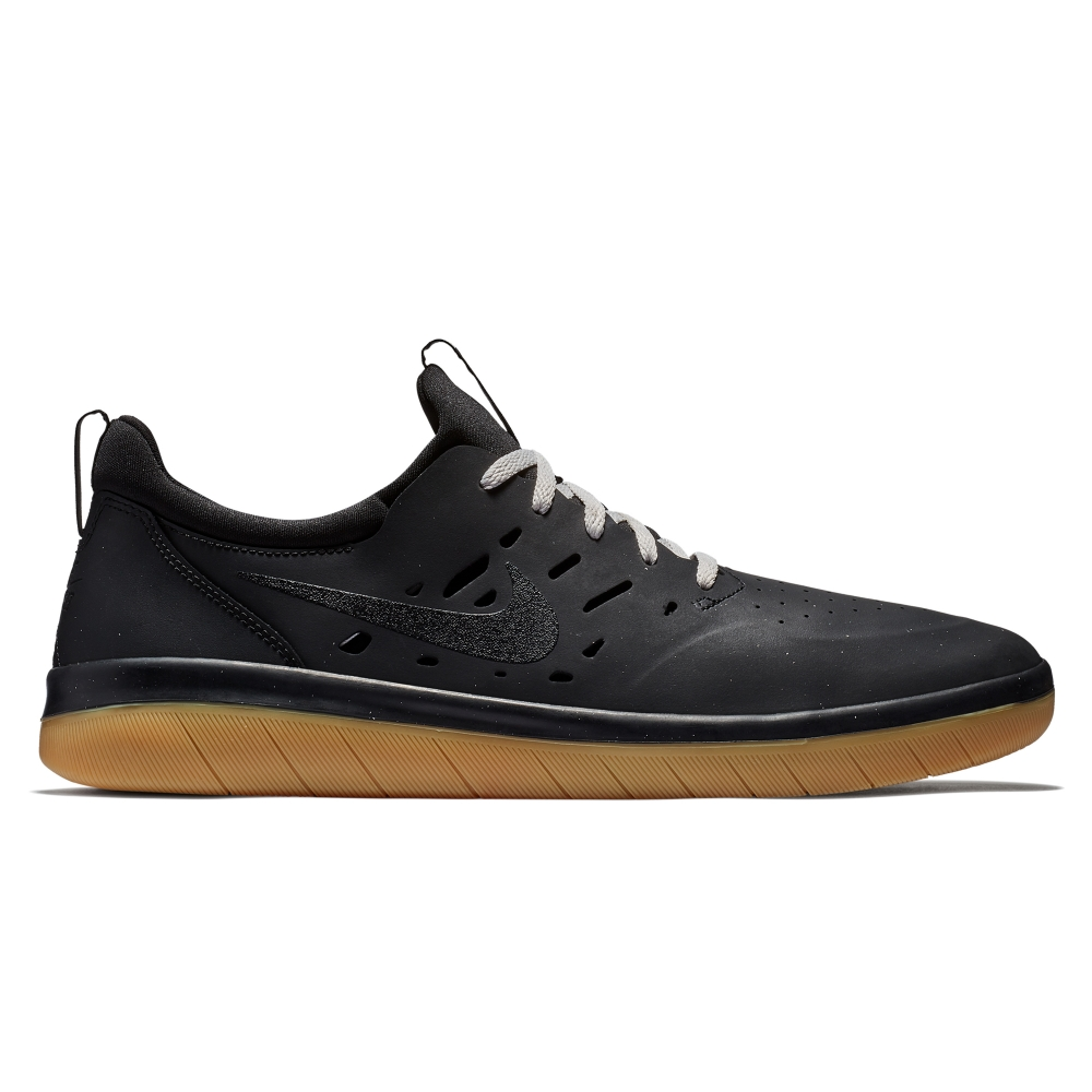Nike SB Nyjah Free (Black/Black-Gum Light Brown)