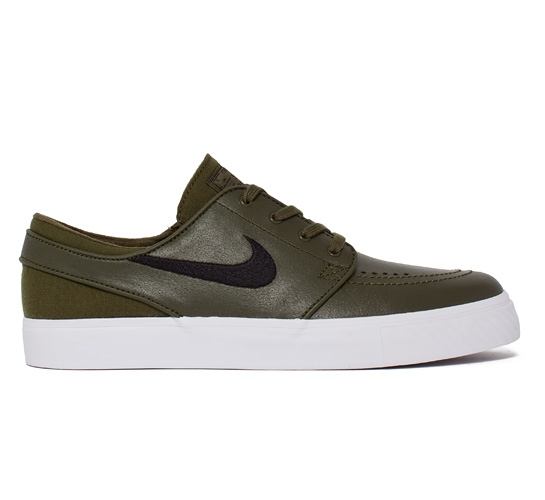 44efcf5a19c8 Nike SB Stefan Janoski L (Legion Green Black-White) - Consortium.