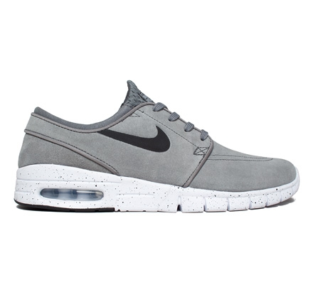 low priced b85c7 35c0a Nike SB Stefan Janoski Max L (Cool Grey Black-White)