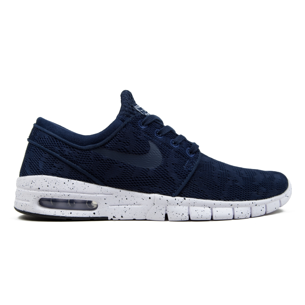 nike sb stefan janoski max midnight navy midnight navy white consortium. Black Bedroom Furniture Sets. Home Design Ideas