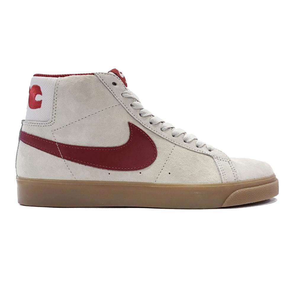 Nike SB x FTC Zoom Blazer Mid QS (Light Bone/Brickhouse-Gum Light Brown)