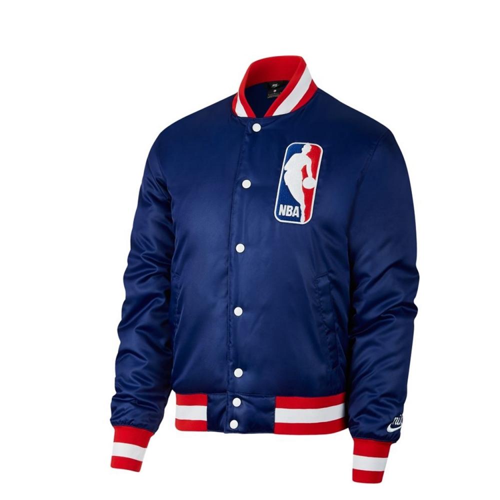 Nike SB x NBA Bomber Jacket (Deep Royal Blue/White)