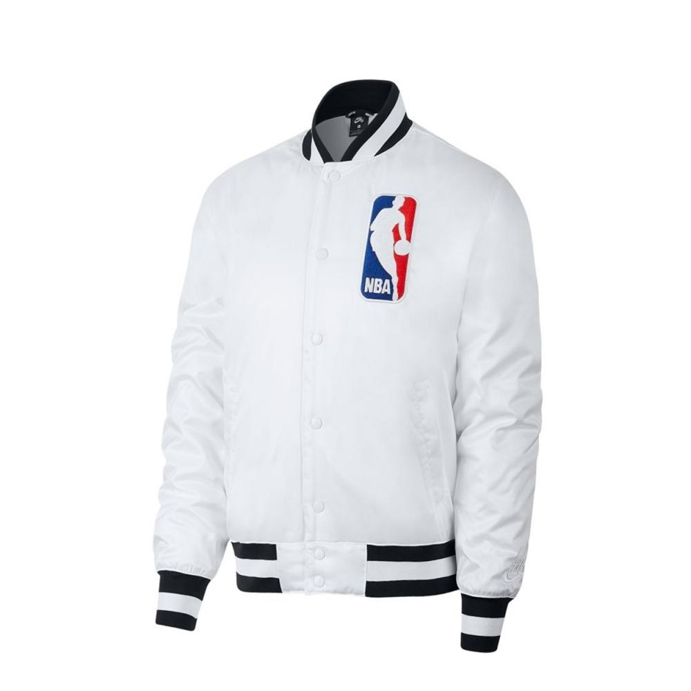 Nike SB x NBA Bomber Jacket (White/White)