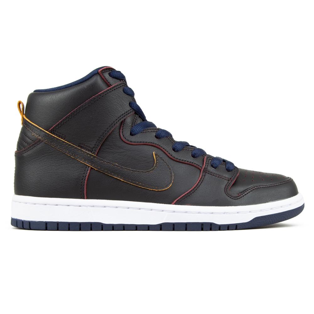 Nike SB x NBA Dunk High Pro 'Cleveland Cavaliers' (Black/Black-College Navy-Team Red)