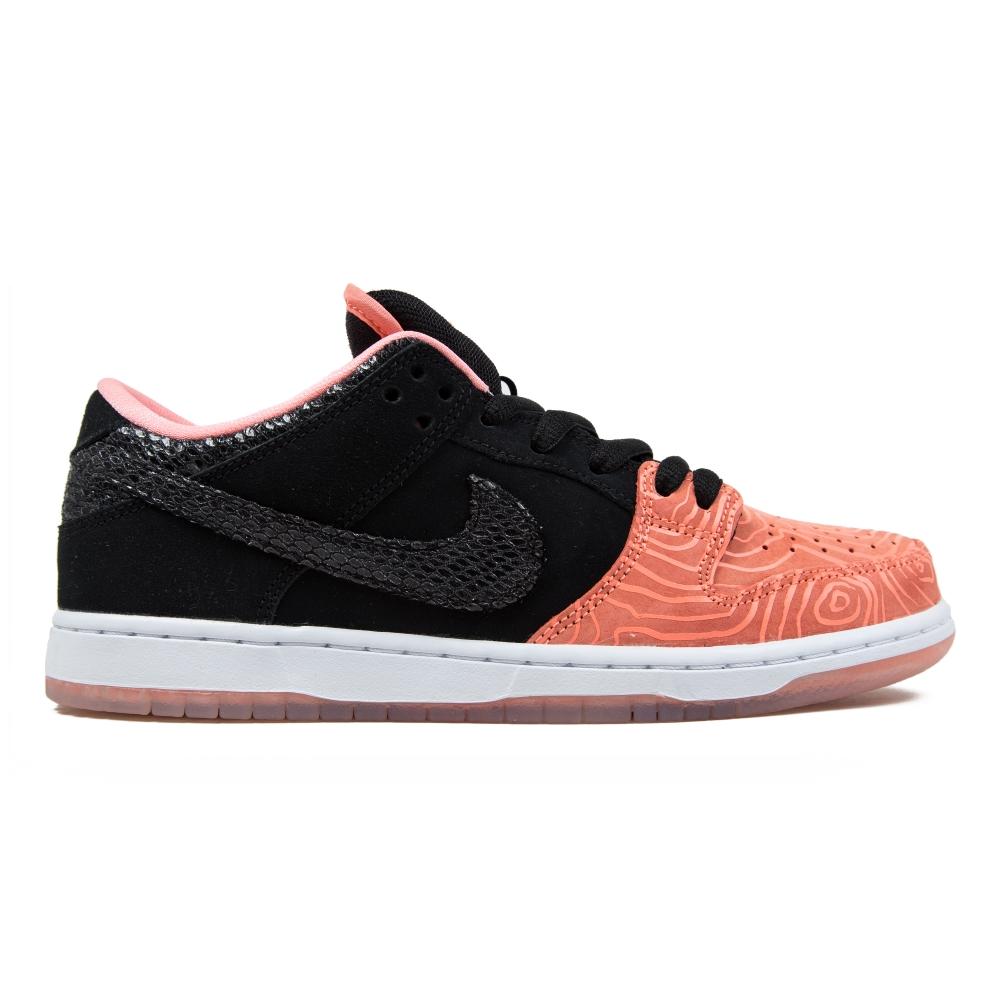 Nike sb x premier dunk low premium 39 fish ladder 39 atomic for Fish shoes nike