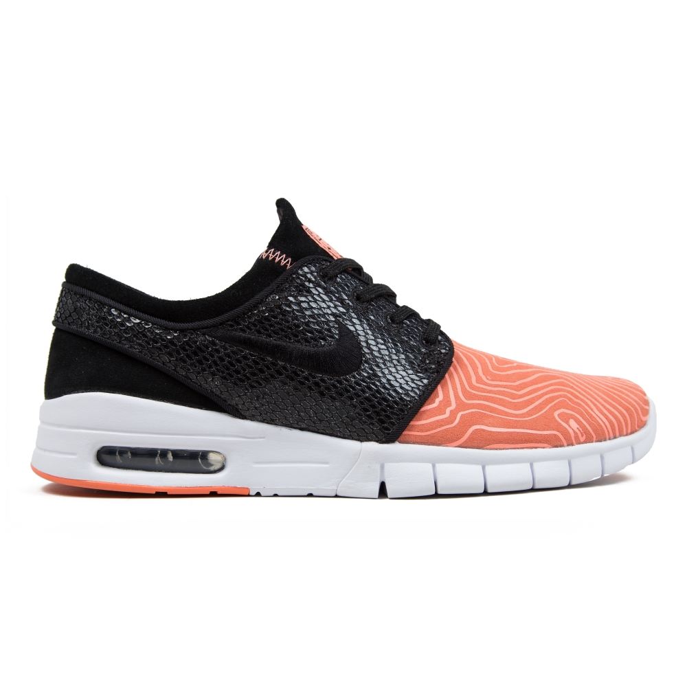 Nike SB x Premier Stefan Janoski Max L 'Fish Ladder' Atomic Pink/Black-Arctic Orange-White (C80l2889