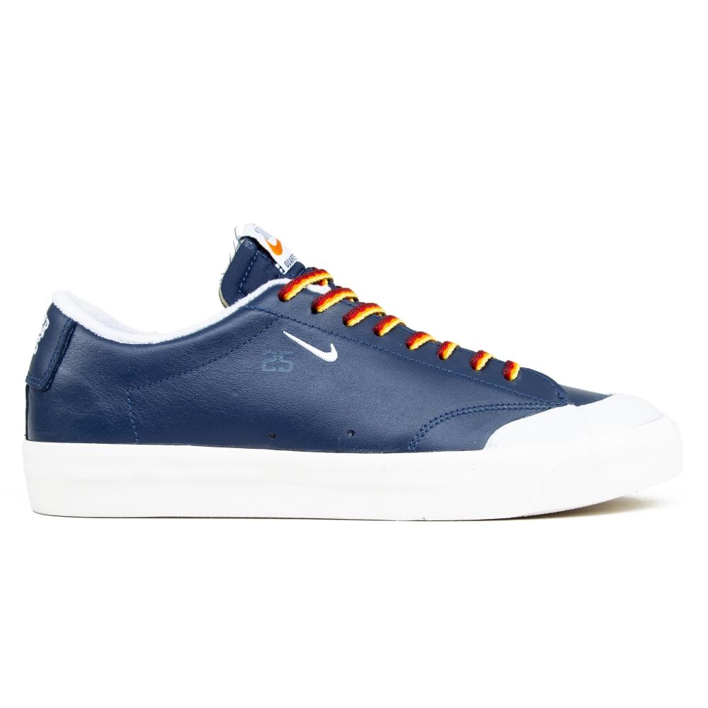 Nike SB x Quartersnacks Zoom Blazer Low XT (Navy/White-Sail)