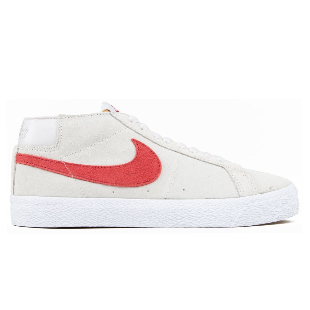 Nike SB Zoom Blazer Chukka (Vast Grey/Team Crimson)