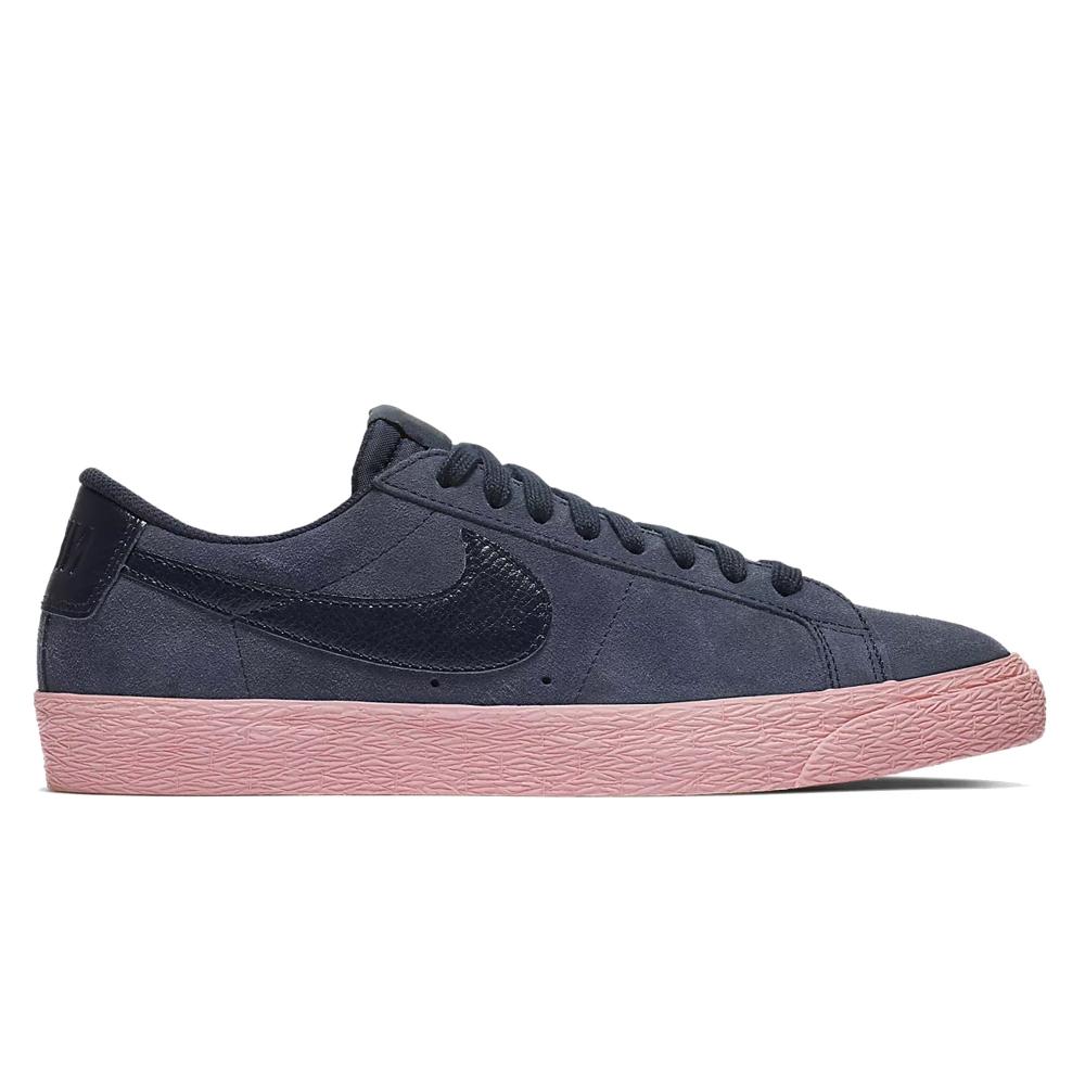 Nike SB Zoom Blazer Low (Obsidian/Obsidian-Bubblegum)