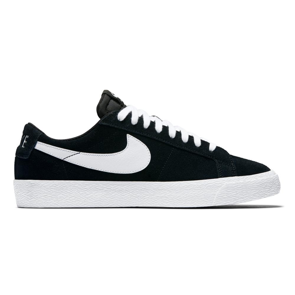 Nike SB Zoom Blazer Low (Black/White-Gum Light Brown)