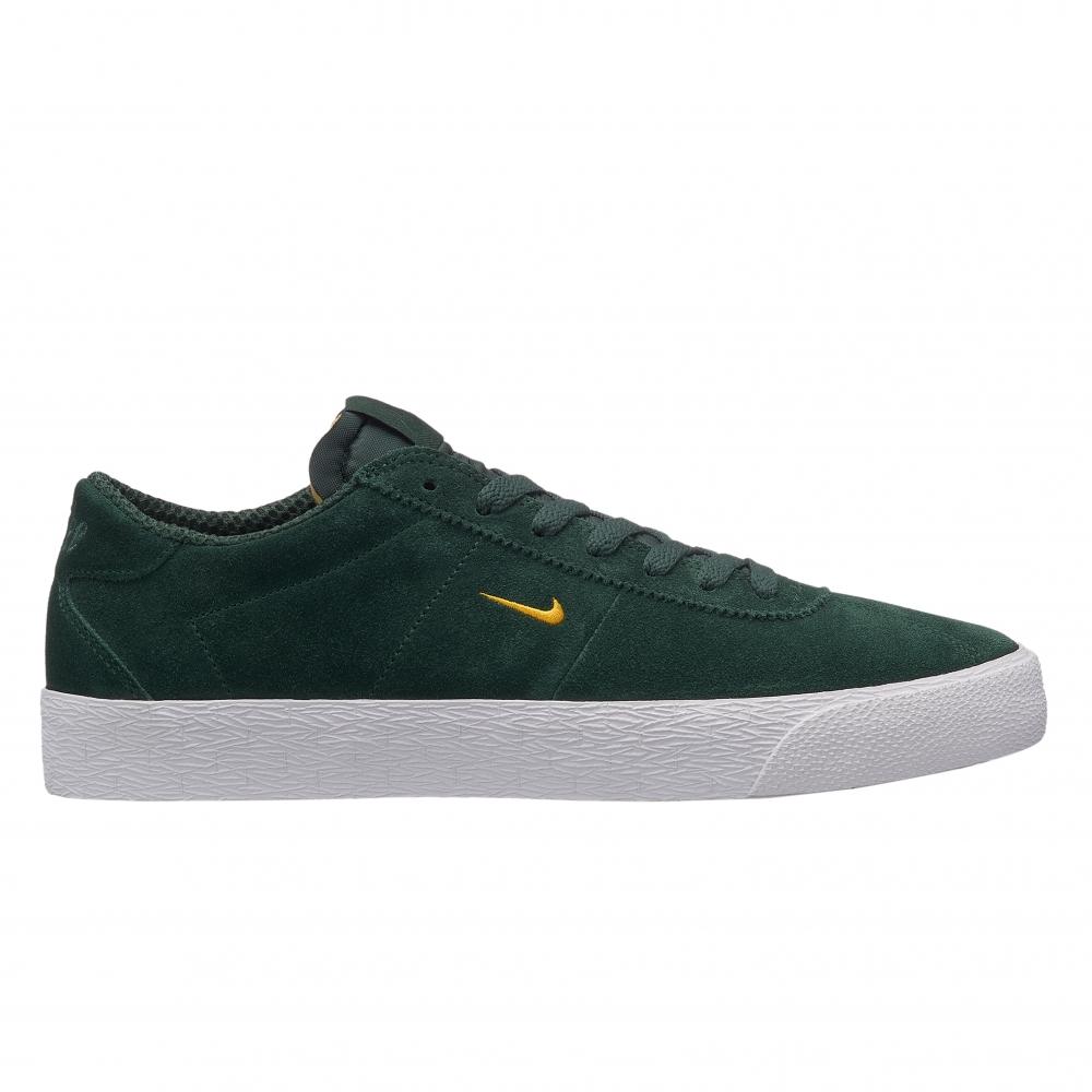 Nike SB Zoom Bruin Ultra (Midnight Green/Yellow Ochre-White)