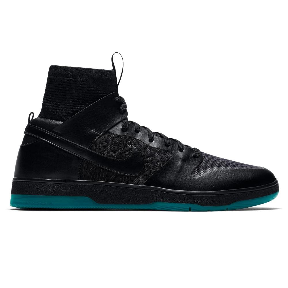 Nike SB Zoom Dunk High Elite (Black/Black-Dark Atomic Teal)