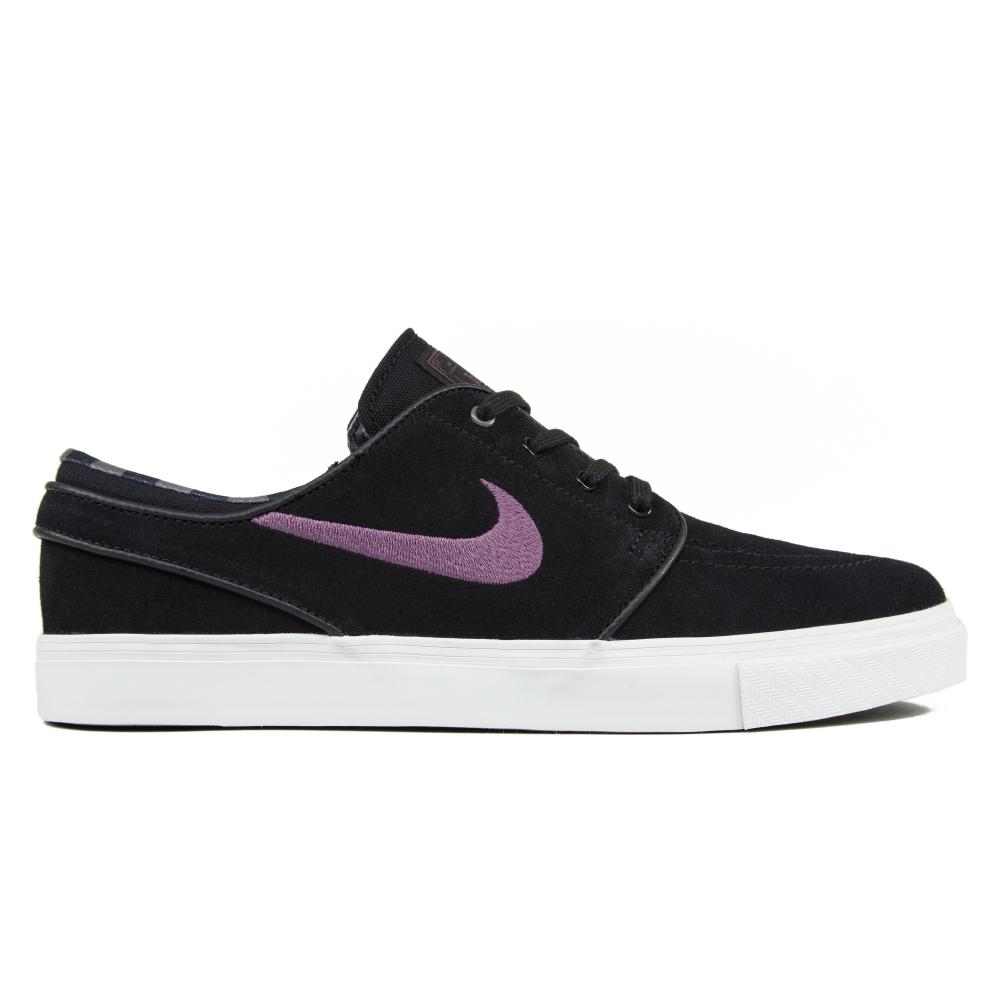 Nike SB Zoom Stefan Janoski (Black/Pro Purple-Ridgerock/Light Bone)
