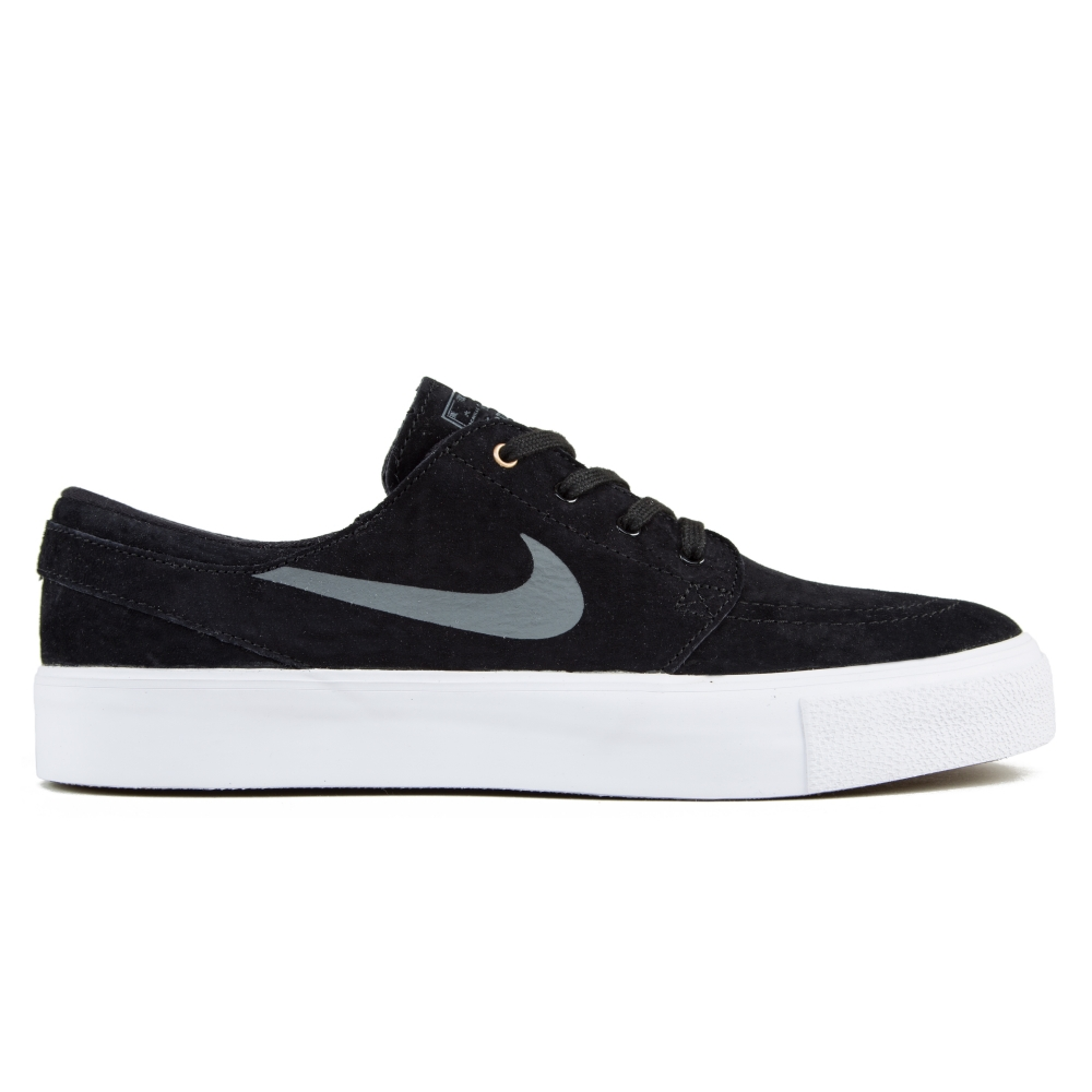 Nike SB Zoom Stefan Janoski HT (Black Dark Grey-Metallic Gold-White ... cb544a0d6b58