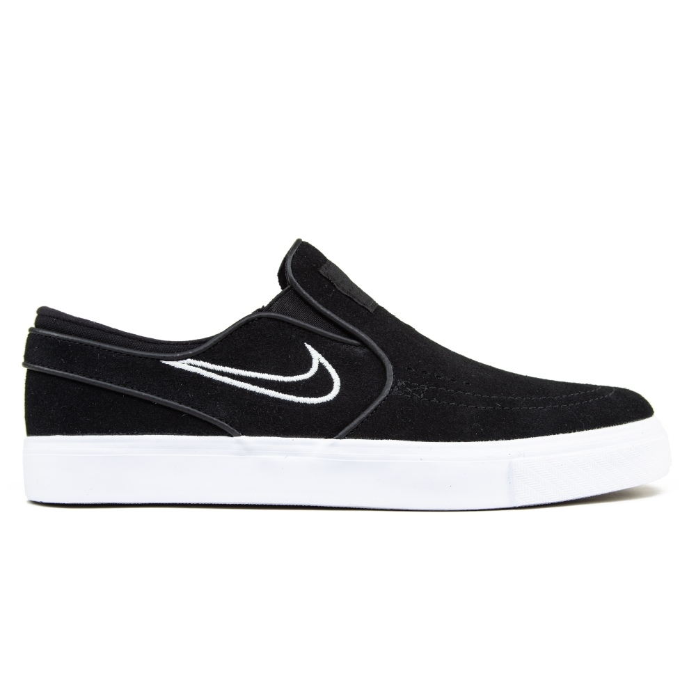 6041bffddbf1 Nike SB Zoom Stefan Janoski Slip-On Black Light Bone White - Consortium.