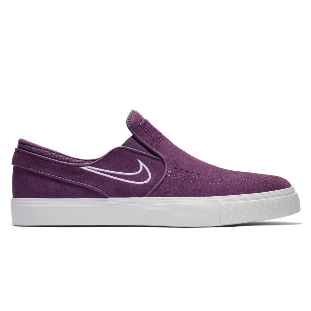 Nike SB Zoom Stefan Janoski Slip-On (Pro Purple/White-Barely Grey)