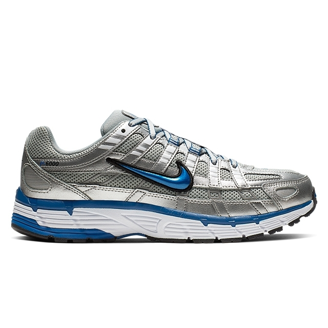 Nike W P-6000 (Metallic Silver/Team Royal-White-Black)
