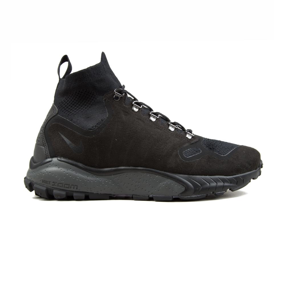 Nike Zoom Talaria Mid Flyknit (Black/Black-Dark Grey)