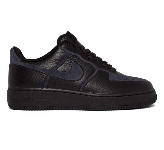 Nike Air Force 1 Premium Skive Tec VT (Black/Black)