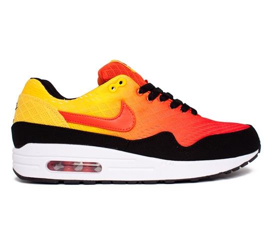 24754f4b182d Nike Air Max 1 EM Sunset (Team Orange Team Orange-True Yellow-Black ...
