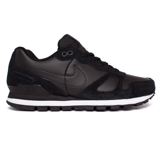 online store c9493 05a7c Nike Air Waffle Trainer Leather (Black/Black-White) - Consortium.