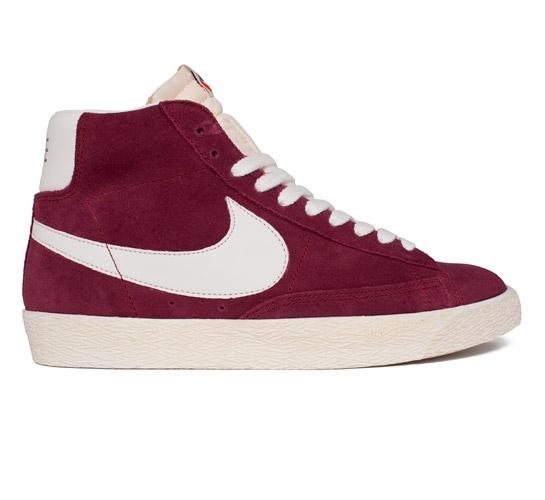 Nike Blazer Aile Rouge Millésime Mi Prime