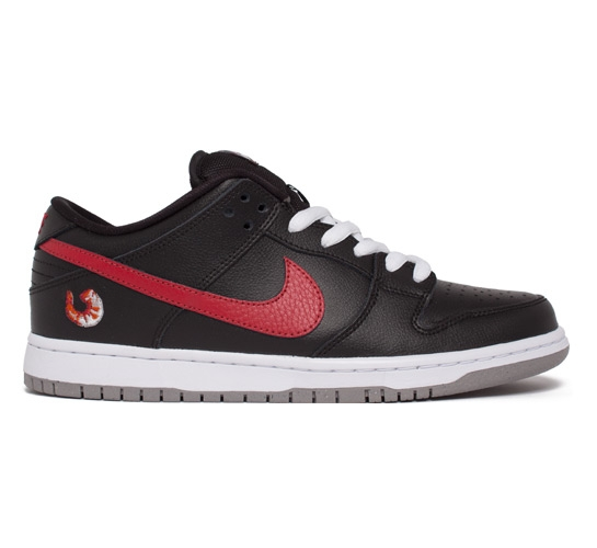 203466bb99e7 Nike SB Dunk Low Shrimp (Black Varsity Red-White-Dust) - Consortium.