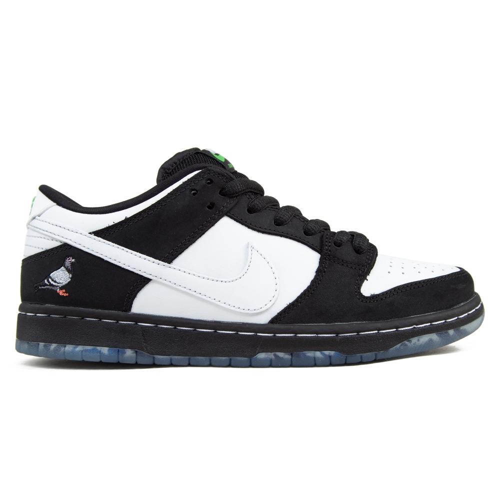 Nike SB x Staple Dunk Low Pro OG 'Panda Pigeon' QS (Black/White-Green Gusto)