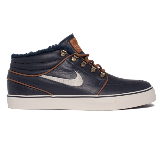 abbd8f33b6828 Nike SB Stefan Janoski Mid Premium (Dark Obsidian Birch-Light British Tan)