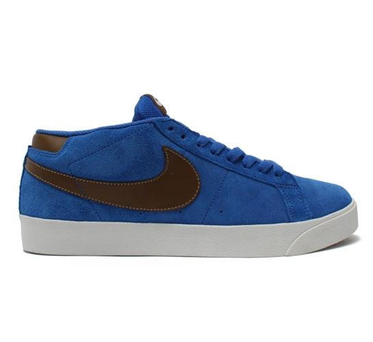 f9739c6571b10 ... sale nike sb blazer cs skate shoes blue sapphire dark khaki 9e82e 57d3c